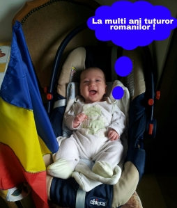 ANDREI la prima aniversare a Zilei Nationale a ROMANIEI !