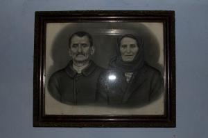 000-Bunicul IANCU și bunica ANICA  POPOVICI .