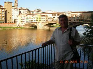 2006-02-09, pe un pod peste flv. ARNO.