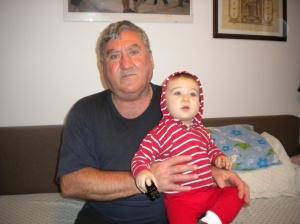 Bunicul si Nepotul, 30-11-2014,dim.,acasa.