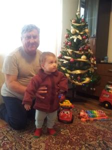 27-12-2014, Andrei cu bunicu'